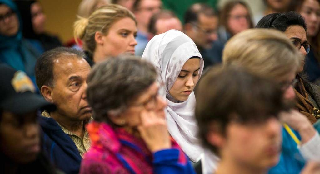 "The Institute for Immigration Research with the Ali Vural Ak Center for Global Islamic Studies and the School for Conflict Analysis and Resolution, co-hosts a panel discussion, ""Xenophobia and Islamophobia in the Modern Era."""